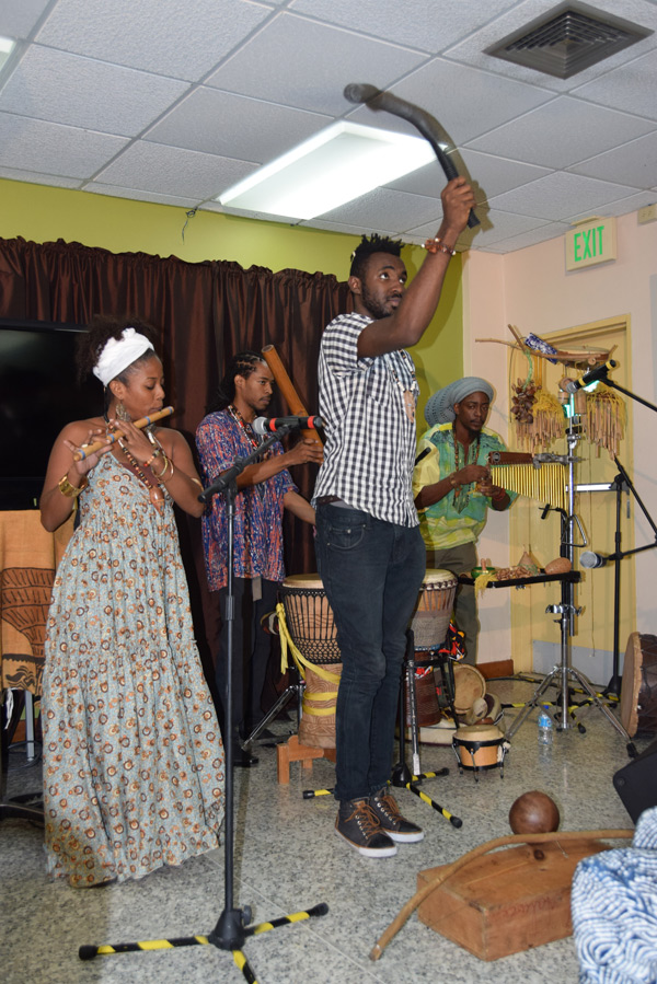 Dayo Bejide Organic Music Movement entertains at the launch