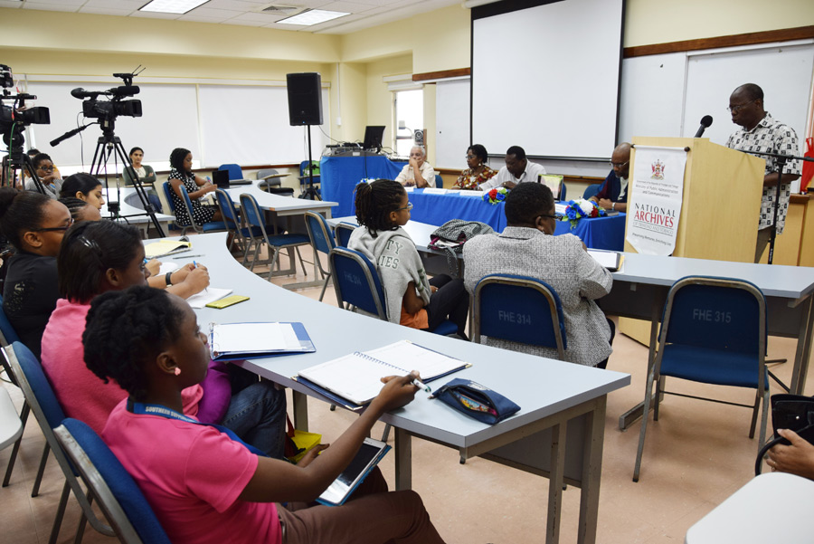Panel Discussion at UWI St Augustine Campus.